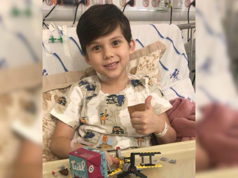 Caso do garoto ganhou as redes sociais e mobilizou correntes de oração
