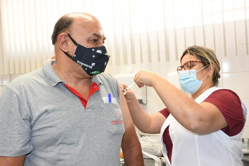 Em Prudente, 92% da população vacinável receberam primeira dose