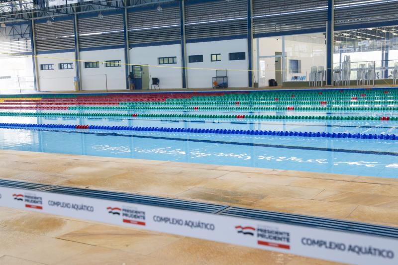 Investimentos darão vida nova aos complexos esportivos da cidade; Complexo Aquático do Centro Olímpico foi inaugurado em 2019