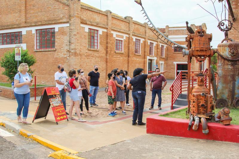 Participantes puderam conhecer as instalações do Centro Cultural Matarazzo