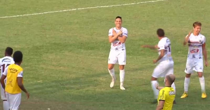 Em Osvaldo Cruz, Marcos Uberaba deu a vitória ao Vocem contra o Azulão: 3 a 2 para a equipe de Assis