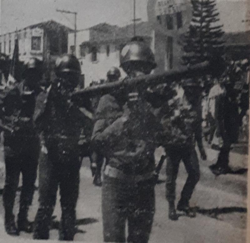 Desfile do 54º aniversário de Prudente