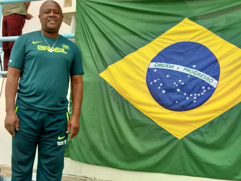 Jorginho diz estar feliz por mais esta convocação para servir a Seleção Brasileira de Atletismo