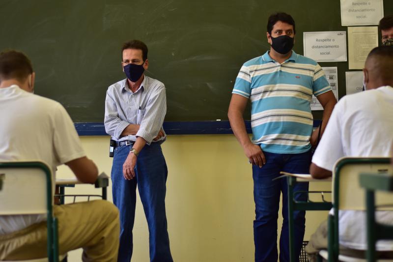 Na penitenciária de Bernardes, detentos participam do curso técnico de Administração