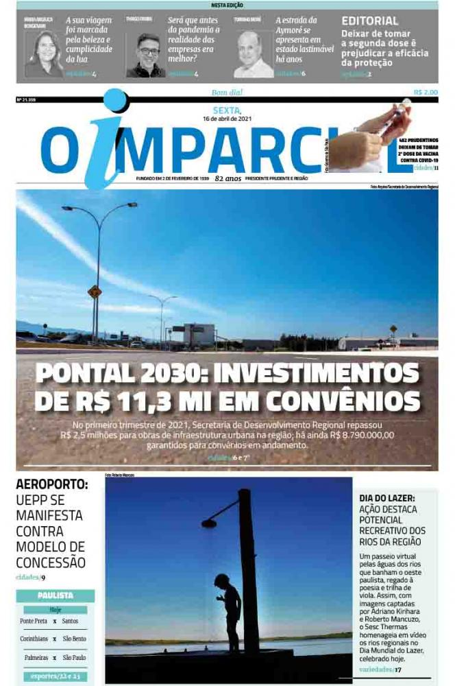 PONTAL 2030: INVESTIMENTOS DE R$ 11,3 MI EM CONVÊNIOS - Pontal 2030 garante investimentos de R$ 11,3 milhões em convênios