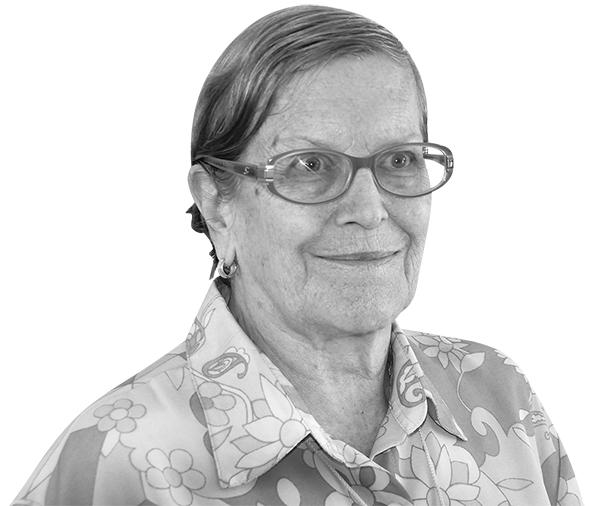Colunista Ruth Kunzli