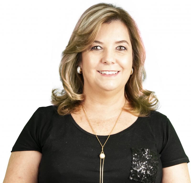 Colunista Fátima Cristina Luiz Leonardo