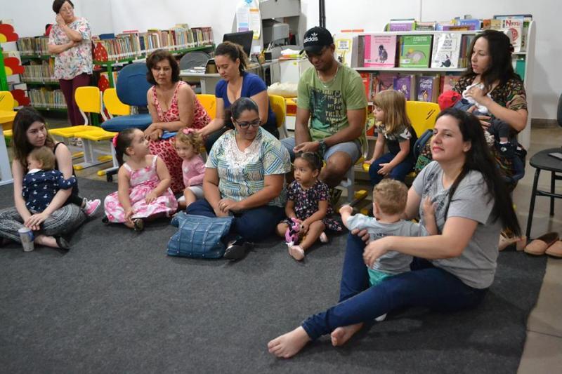 Arquivo:Lê no Ninho incentiva leitura a crianças de seis meses a quatro anos de idade, duas vezes ao mês