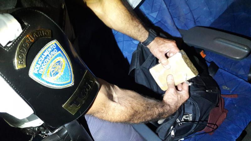 Polícia Militar Rodoviária - Drogas seriam comercializadas em cidade mineira
