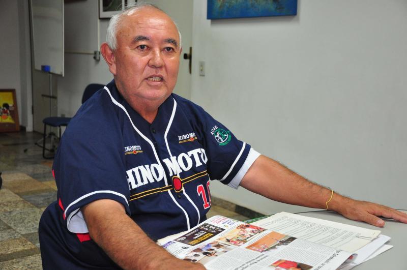 José Reis -  Mario Kaneki, beisebolista, soma 53 anos de carreira, como atleta e técnico