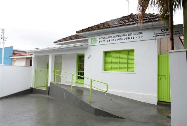 Prefeitura de Prudente - Inscrições podem ser feitas na sede do Conselho de Saúde