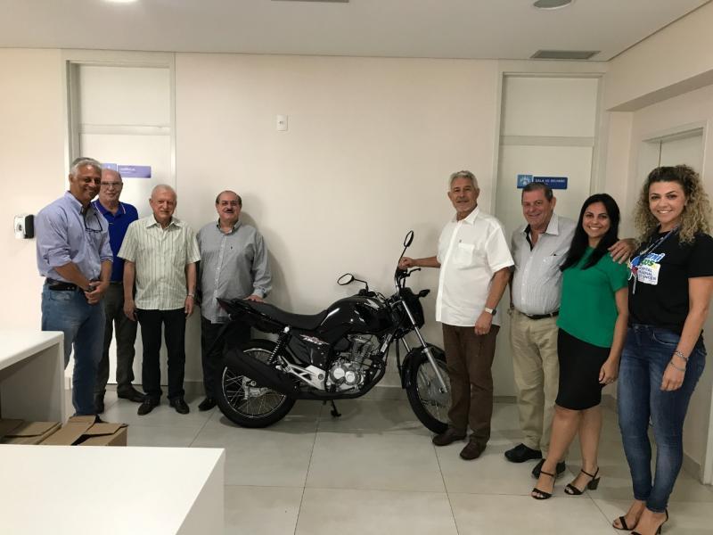 Moto será utilizada pelo serviço de Telemarketing do Hospital do Câncer, no recebimento de doações