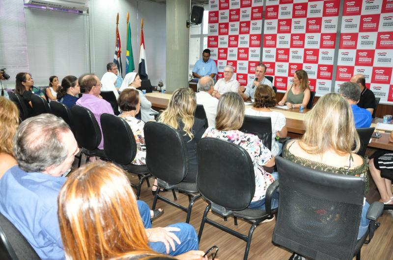 José Reis - Assinatura da subvenção social de R$ 1.465.320 ocorreu ontem
