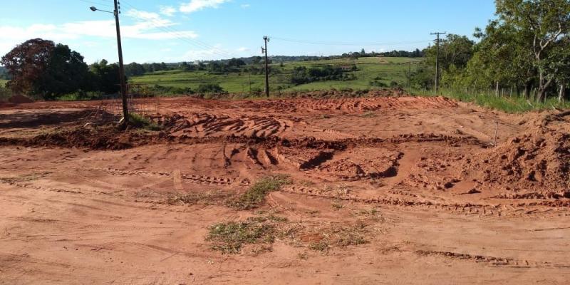José Reis - Prefeitura iniciou terraplanagem do terreno e equipe fará visita técnica nesta manhã de hoje