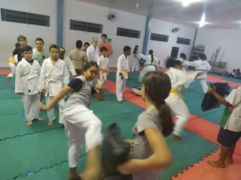 Foto: Cedida Xandão / Em começo de temporada, garotada está treinando puxado durante toda a semana