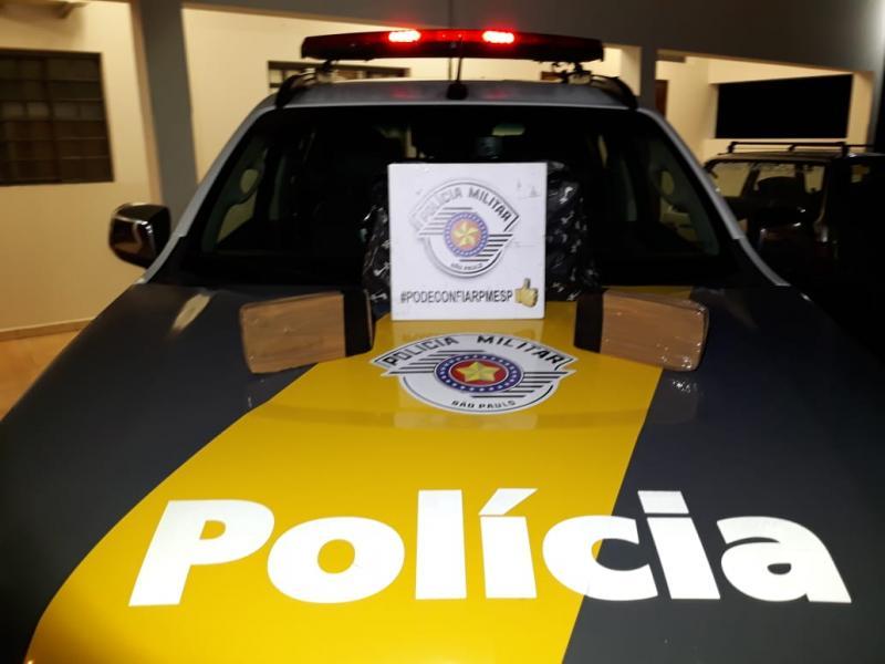 Polícia Militar Rodoviária - Mulher disse que droga, que foi apreendida, seria transportada a Ourinhos (SP)