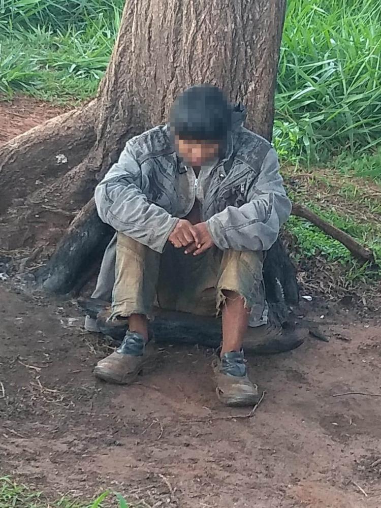 Polícia Civil -Homem aparenta ter entre 25 e 30 anos de idade; caso foi informado à Funai