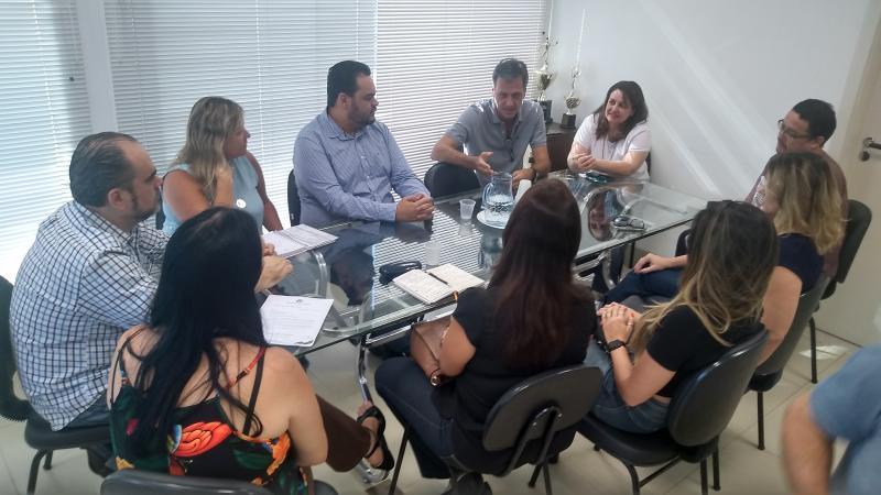 Weverson Nascimento - Comitiva discute assinatura de termo de cooperação técnica