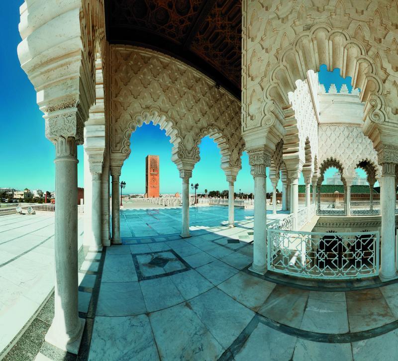 Turismo do Marrocos:O imponente Palácio Real, em Rabat, a capital que fica no litoral marroquino