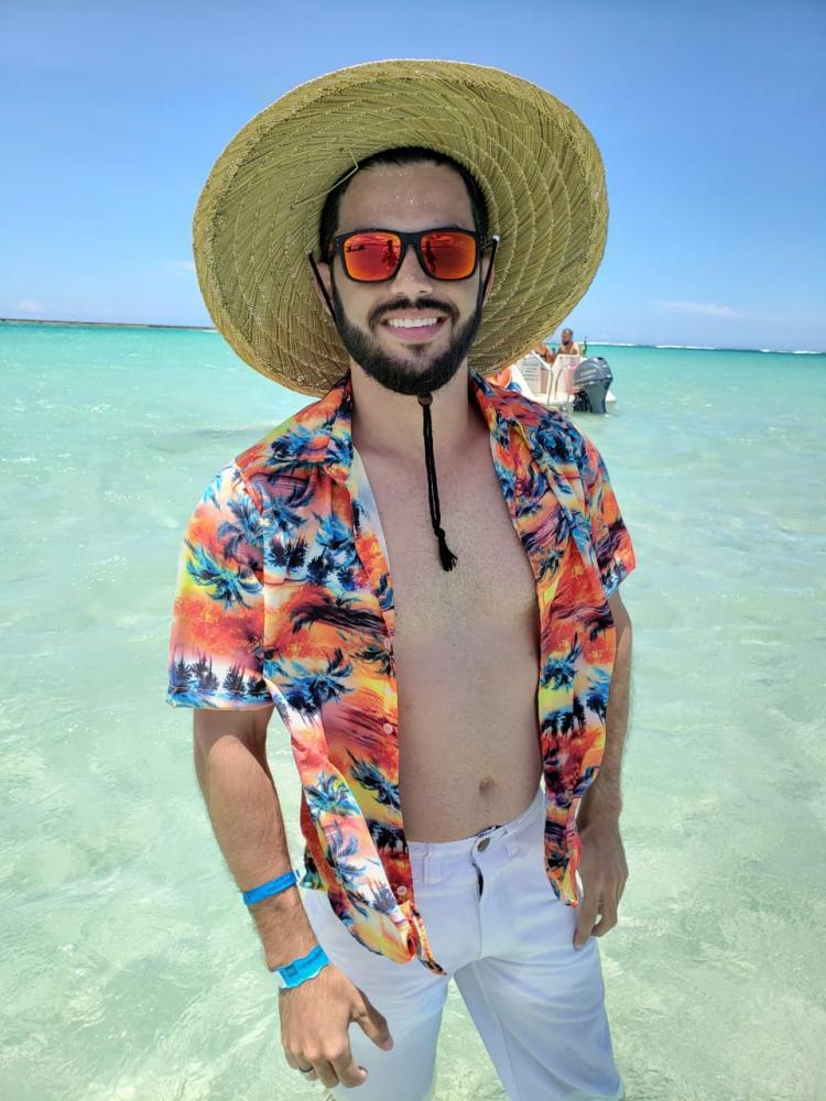 Silvio Santiago conheceu Maragogi com a agência Wesley Cotini Turismo