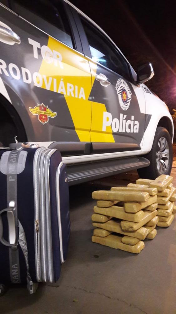 Polícia Militar Rodoviária - Apreensões de maconha ocorreram em dois municípios da região de Prudente