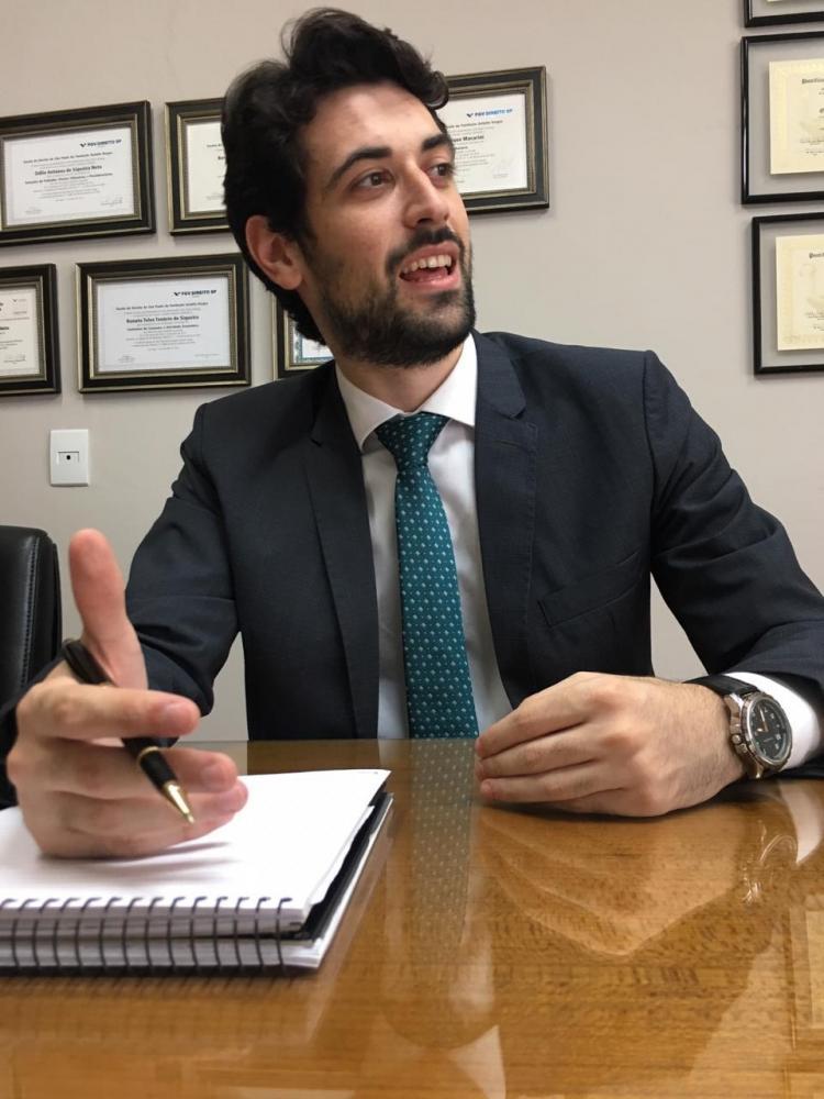 Cedida Arquivo Pessoal - Advogado criminalista Matheus da Silva Sanches acredita na agilidade da Justiça em audiências