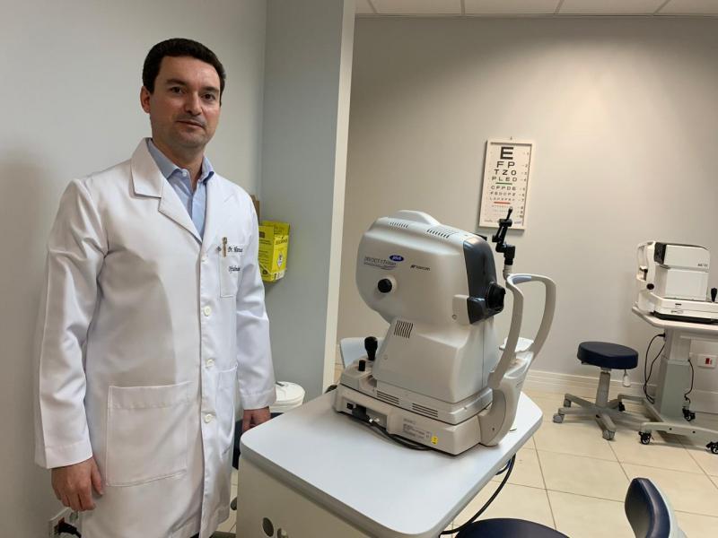 Oftalmologista e Retinólogo, Marcussi Palata Resende