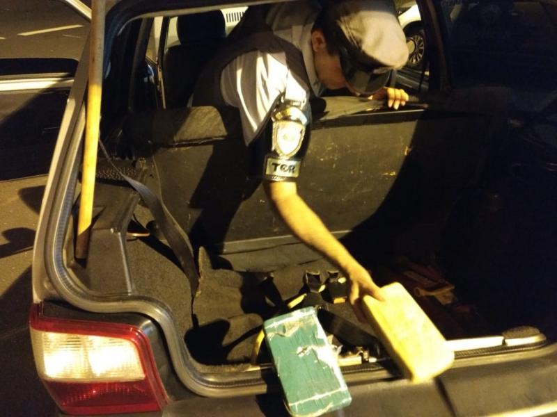 Polícia Militar Rodoviária - Drogas apreendidas seriam entregues em Presidente Prudente