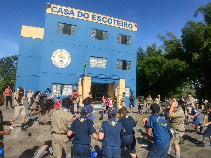 Cedida/Marcelo Costilho Jorge - Grupo Guayporé tem fila de espera de 80 jovens interessados