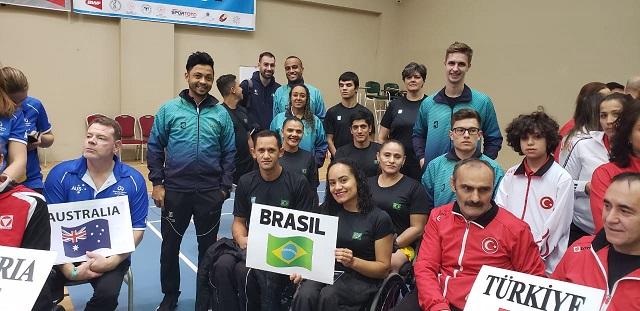 Divulgação/Comitê Paralímpico Brasileiro - Atleta é um dos 13 brasileiros que representam o país na competição