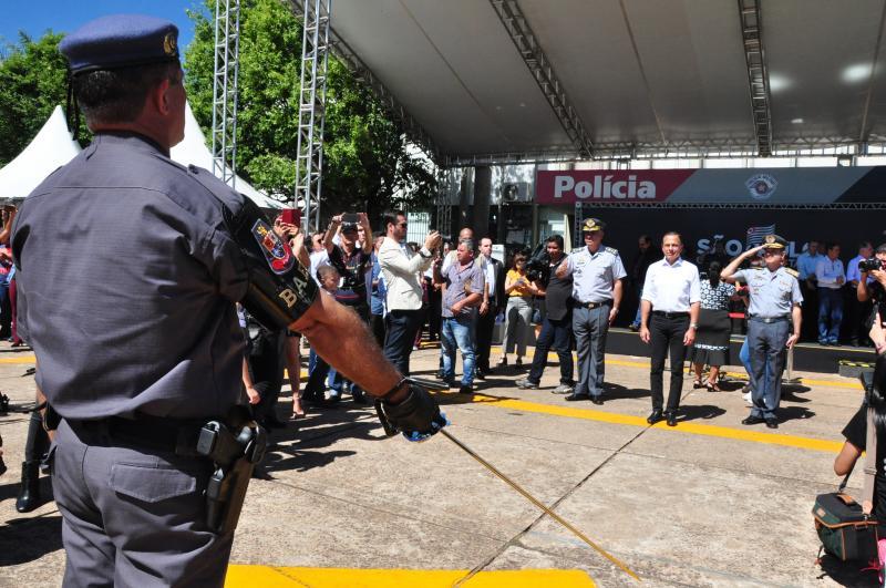 José Reis - Inauguração do 8º Baep ocorreu durante solenidade no CPI-8, em Presidente Prudente