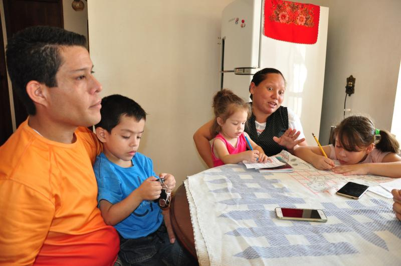 José Reis -Recém-chegada a Prudente, família estrangeira não tem planos de voltar para a Venezuela
