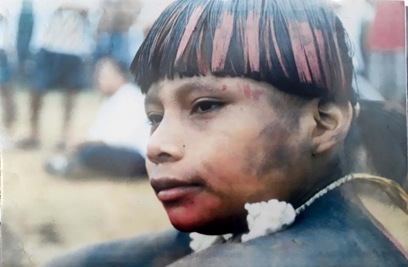 Cedida/ Museu e Arquivo Histórico:Exposição fotográfica Índios Xavantes segue no museu prudentino até o dia 30 de abril