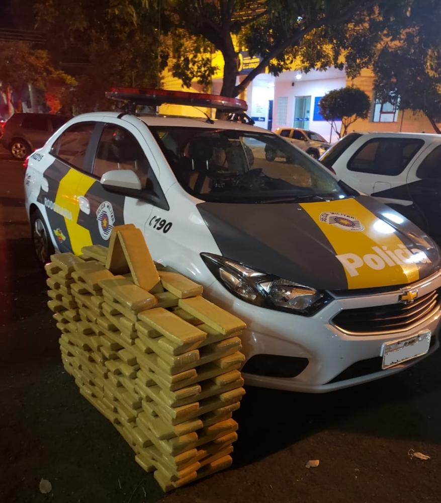 Polícia Militar Rodoviária:Veículo com entorpecentes foi apreendido pela polícia