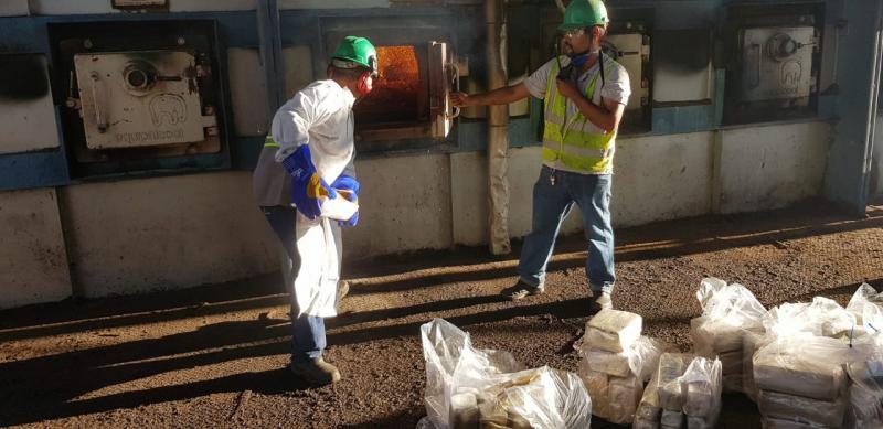 Polícia Civil:Drogas foram incineradas em forno de usina sucroalcooleira