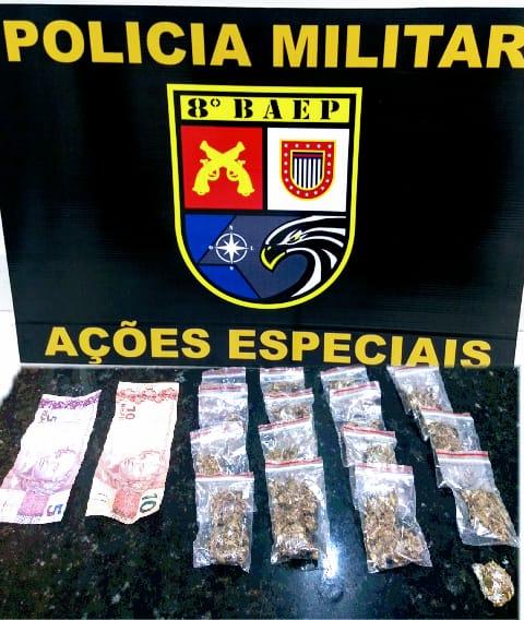 Polícia Militar:Drogas seriam comercializadas durante festa em Epitácio