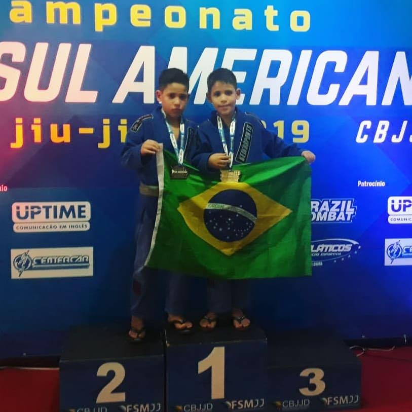 Cedida/Henrique Ramos - Irmãos Yuri e Ygor também garantiram medalhas no Sul-Americano