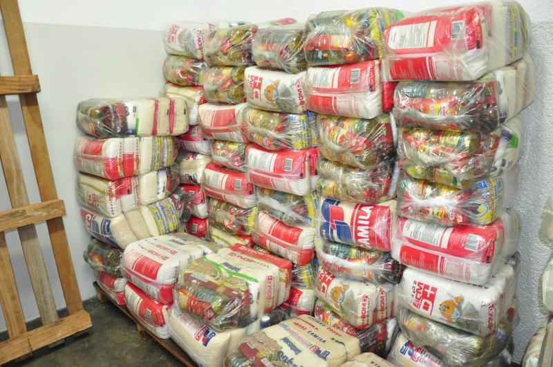 José Reis -Separação, montagem e entrega são feitos pelo Fundo Social