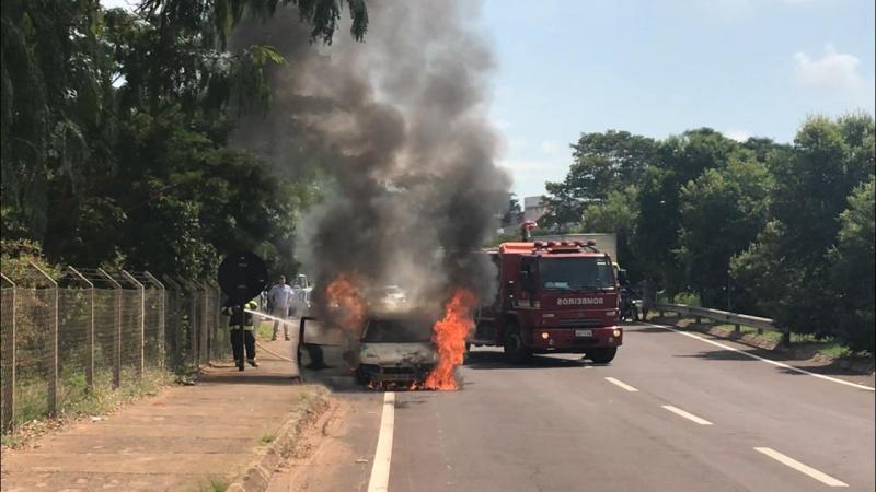 Gabriel Buosi - Causas do incêndio serão analisadas ao término da ocorrência