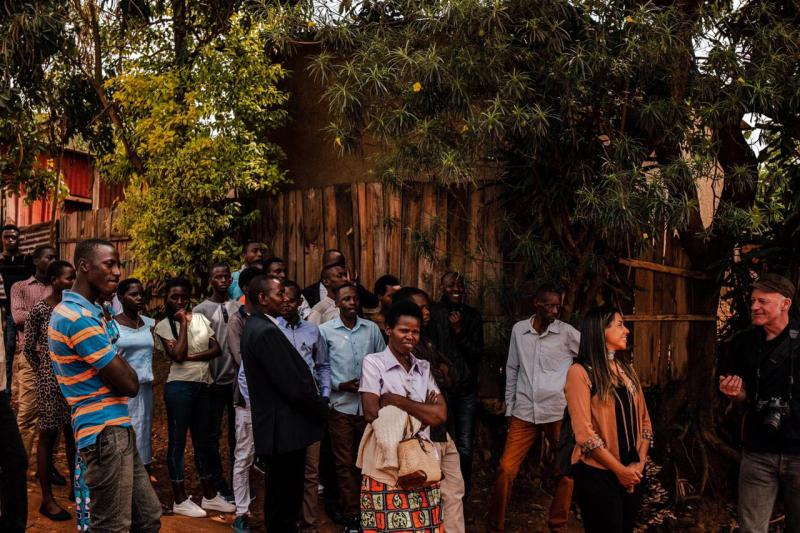 Foto: Luiza Boguszewski:No ano que marca os 25 anos, pesquisadora esteve com ruandeses e fotógrafo alemão