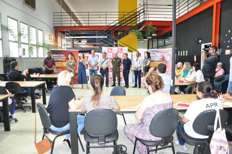 José Reis -Lançamento da campanha ocorreu na manhã de ontem, em Prudente