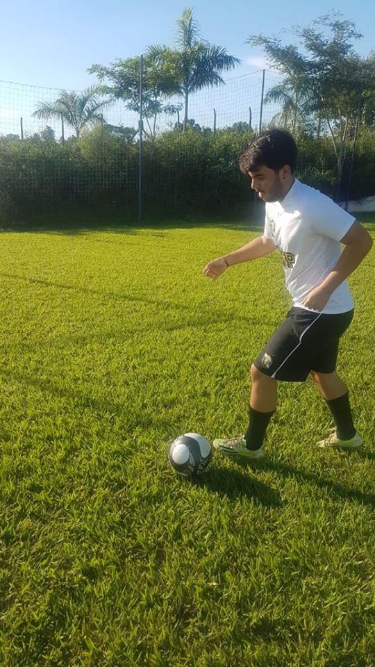 Cedida/Pedro Reis - Atleta tem se dedicado aos treinos há pelo menos um ano