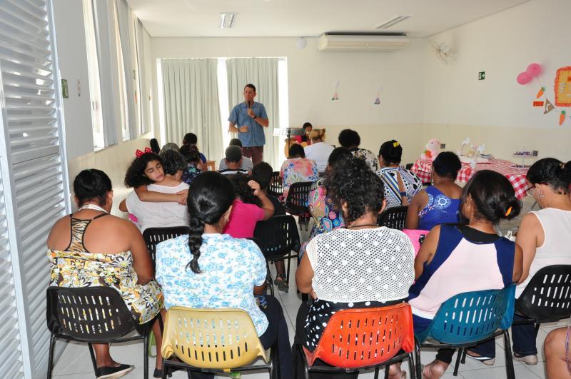 José Reis -Encontro reuniu cerca de 20 assistidos da associação na tarde de ontem, em Prudente
