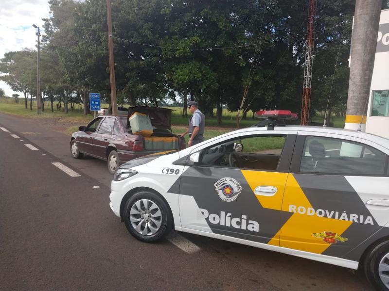 Polícia Militar Rodoviária:Abordagem ocorreu na Rodovia Raposo Tavares, em Epitácio