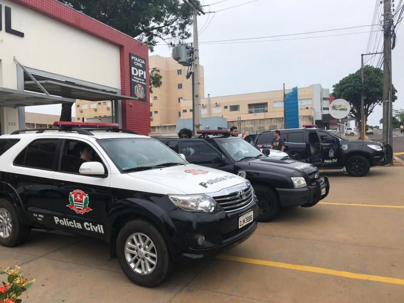 Polícia Civil:Prisões ocorreram durante mandados em cidades do Estado