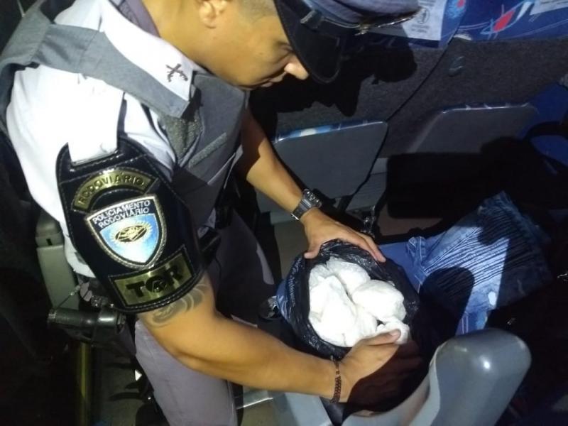Polícia Militar Rodoviária - Trabalho dos militares ocorreu em ônibus que saíram de Campo Grande