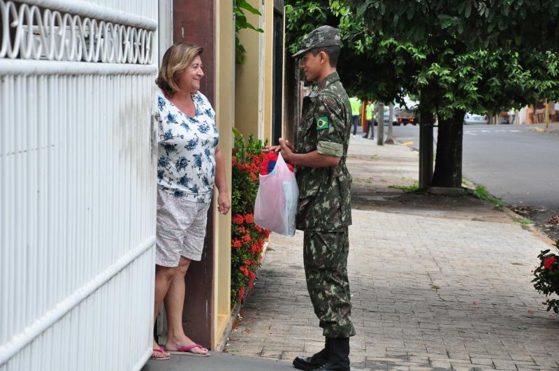 José Reis - Cerca de 300 voluntários participaram da primeira etapa da campanha do agasalho em PP