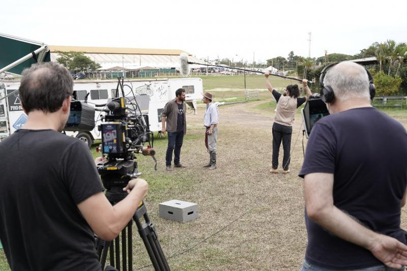 Freddy Paz:Filme será rodado em oito cidades e cenas são gravadas no Rancho Quarto de Milha