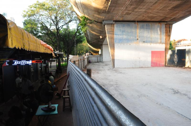 José Reis -Boxistas ficarão sob o Viaduto Tannel Abbud, local que antes abrigava serviços públicos
