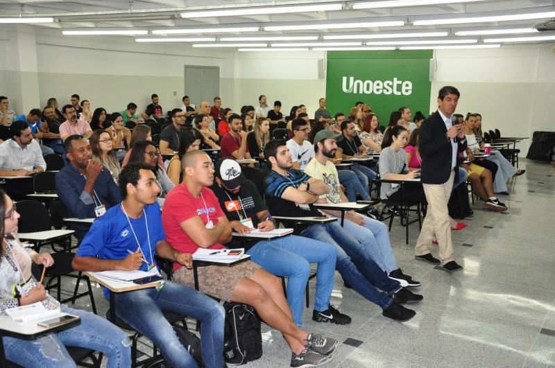 José Reis:Conferência ocorreu na manhã de ontem, na Unoeste, e debateu atividades físicas e saúde